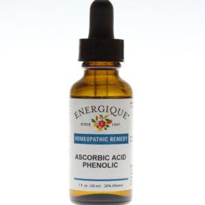 bottle of Ascorbic Acid Phenolic