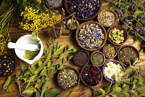 Select herbs used in liquified herbal products