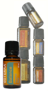 Essential oil blends from doTERRA