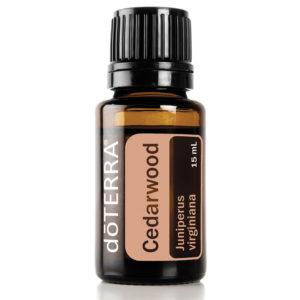 Cedarwood 15ml essential oil.